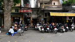POV View of Driving Down Street - Ho Chi Minh City (Saigon) Vietnam - stock footage