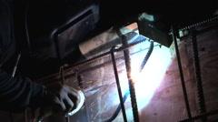 Arc welder Stock Footage