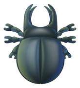 Cartoon insect bug Stock Illustration