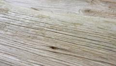 Natural wood structure macro Stock Footage