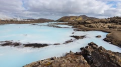 The Blue Lagoon Stock Footage