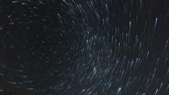 4k UHD star trail time lapse stars and clouds 11589 - stock footage