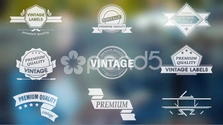 After Effects Project - Pond5 Vintage Labels 45692835
