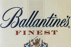 ballantine's blended scotch whiskey mark original - stock photo