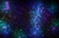 Colorful background od a deep space star field Stock Illustration