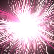 Supernova explosion. Blurred rays in space, huge energy release. Vivid colors Stock Illustration