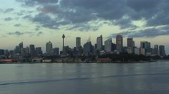 Sydney Morning Landscape Stock Footage