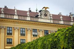 schonbrunn palace in vienna, austria - stock photo