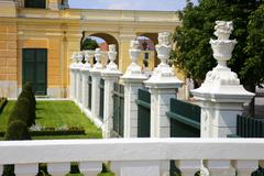Stock Photo of garden park of schonbrunn palace, vienna