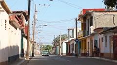 Havana streets - stock footage