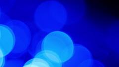 Blue light bokeh background 4K Stock Footage