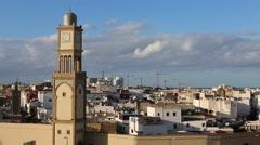 MAROC Casablanca medina - stock footage
