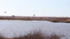 Beautiful Lake View Stock Footage