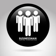 Stock Illustration of businessman design, vector illustration eps10 graphic