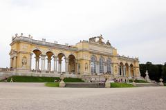 Schonbrunn palace in vienna, austria Stock Photos