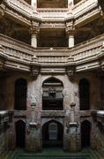 adalaj stepwell - stock photo