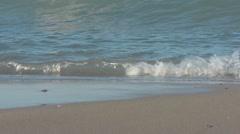sea wave, tide, sea foam.mp4 - stock footage
