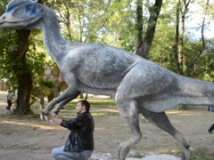 Big dinosaur. Related clips are in my portfolio in 1920x1080. - stock footage