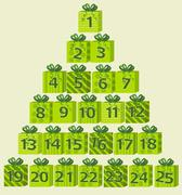 Stock Illustration of Advent calendar