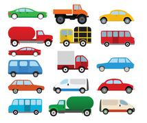Cars collection Piirros