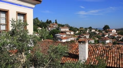 Sirince village famous for its tradition and hospitality Stock Footage