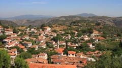 Sirince has become popular with travelers visiting the nearby historical sites Stock Footage