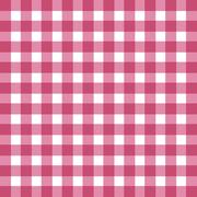 Stock Illustration of Flat easy tilable red and white gingham pattern
