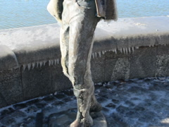 Monument to the fisherman. Related clips are in my portfolio in 1920x1080. Stock Footage