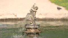 SMALL FOUNTAIN, AIX EN PROVENCE, FRANCE Stock Footage