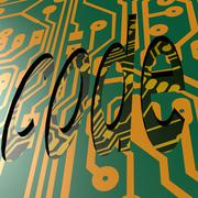Pcb and code word Stock Illustration