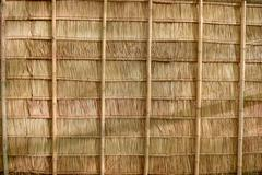 Close-up of thatch roof Stock Photos