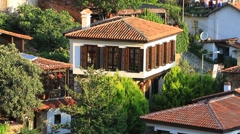 Typical village house in Anatolia Stock Footage