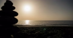 4k time lapse, la palma, sunrise porto naos Stock Footage