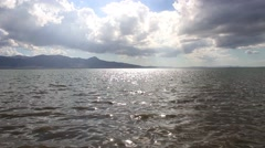 Sea Landscape And Clouds - stock footage