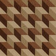 Abstract paneling pattern - seamless background - leather texture Stock Illustration