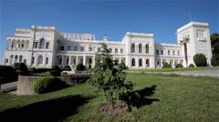LIVADIA PALACE YALTA CRIMEA UKRAINE Stock Footage