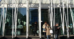 Stock Video Footage of Expo gate, Milano.