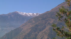 Mountain in Himachal Pradesh, India. Stock Footage