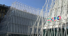 Expo gate, Milano. Stock Footage