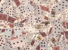 Play Cards Stock Illustration