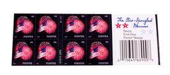 american postage stamps - stock photo