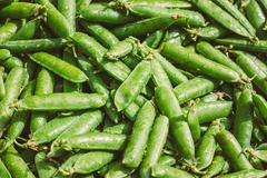 Fresh Vegetable Organic Green Beans Background Stock Photos