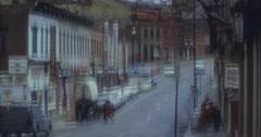 Denver Entertainment District 16mm 60s Stock Footage