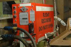 flight recorder - stock photo