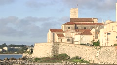 VIEW OF ANTIBES, FRANCE Stock Footage