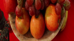 Fruit Bowl, Rich Stock Footage