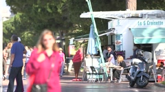 WALKERS, CROISETTE, CANNES - stock footage