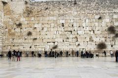 wailing wall . - stock photo