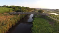 Bude River Stock Footage