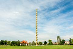 The Endless Column (Column of Infinite) Stock Photos